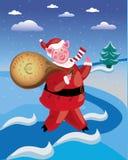 Weihnachten piggy Lizenzfreie Stockbilder