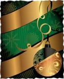 Weihnachten-PLAKAT Stockbild