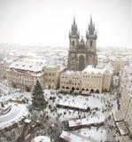 Weihnachten 2015 in Prag Lizenzfreie Stockfotos