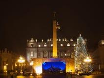 Weihnachten in Rom Lizenzfreie Stockfotos