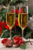 Weihnachten Rose Lizenzfreie Stockfotos