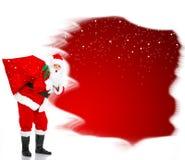 Weihnachten Sankt lizenzfreies stockfoto