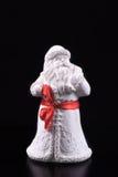 Weihnachten Santa Claus Figurine Stockfotos
