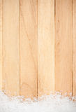 Weihnachten: Schneeflocken-Grenzhintergrund Lizenzfreie Stockbilder
