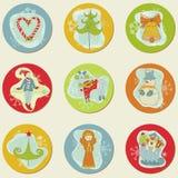 Weihnachten Stickes Lizenzfreie Stockfotografie