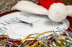 Weihnachten-timlock, Sankt-hae stockbild