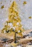 Weihnachten tree#06 Lizenzfreies Stockfoto