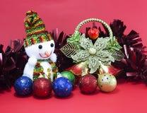 Weihnachten und glückliches neues Jahr Stockfoto