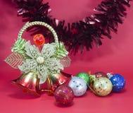 Weihnachten und glückliches neues Jahr Lizenzfreie Stockbilder