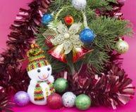 Weihnachten und glückliches neues Jahr Lizenzfreie Stockfotos
