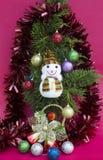 Weihnachten und glückliches neues Jahr Lizenzfreies Stockbild