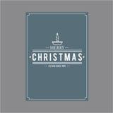Weihnachten und glückliches neues Jahr Abdeckungsgrußkarten Lizenzfreie Stockfotografie