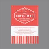 Weihnachten und glückliches neues Jahr Abdeckungsgrußkarten Lizenzfreie Stockbilder