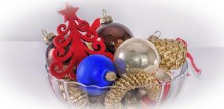 Weihnachten und neue Jahresfrist 24 Lizenzfreies Stockbild