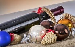 Weihnachten und neue Jahresfrist 22 Lizenzfreies Stockfoto