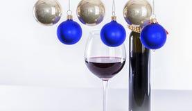 Weihnachten und neue Jahresfrist 16 Lizenzfreie Stockfotografie