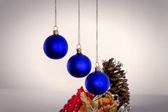Weihnachten und neue Jahresfrist 15 Lizenzfreie Stockbilder