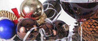 Weihnachten und neue Jahresfrist 02 Stockfotografie