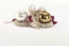 Weihnachten und neue Jahresfrist 05 Lizenzfreies Stockbild