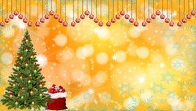 Weihnachten und neues Jahr stockbild
