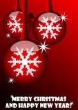 Weihnachten und neues Jahr Lizenzfreie Stockfotos