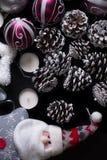 Weihnachten und neues Jahr Lizenzfreies Stockbild
