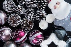 Weihnachten und neues Jahr Stockfotografie