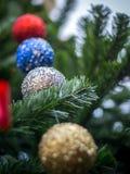 Weihnachten und neues Jahr-Festival Stockfotografie