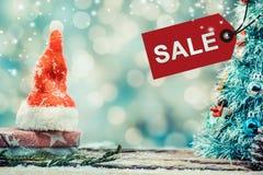 Weihnachten und neues Jahr im Verkauf Lizenzfreie Stockfotografie