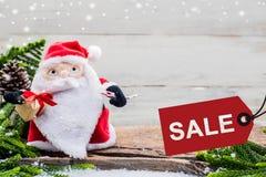 Weihnachten und neues Jahr im Verkauf Lizenzfreies Stockfoto