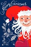 Weihnachten- und neues Jahr ` s Hintergrund Lizenzfreies Stockfoto