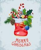 Weihnachten- und neues Jahr ` s Hintergrund lizenzfreie stockfotografie