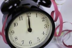 Weihnachten und neues Jahr ` s Vorabendfeier und -countdown Lizenzfreies Stockfoto
