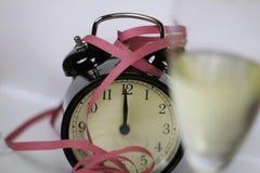 Weihnachten und neues Jahr ` s Vorabendfeier und -countdown Lizenzfreie Stockbilder