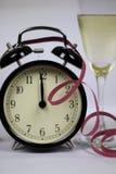 Weihnachten und neues Jahr ` s Vorabendfeier und -countdown Stockbilder