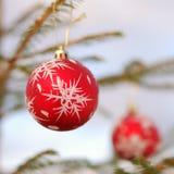 Weihnachten und neues Jahr-Verzierung Lizenzfreies Stockfoto