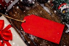 Weihnachten und Preis Stockbild