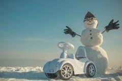 Weihnachten und Transport lizenzfreie stockfotografie