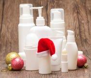 Weihnachten und Verkaufs- oder Geschenkkonzept des neuen Jahres Stockfotografie