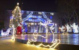 Weihnachten in Varna Lizenzfreies Stockfoto