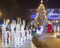 Weihnachten in Varna Lizenzfreie Stockbilder