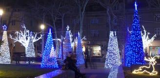 Weihnachten in Varna Stockfotos