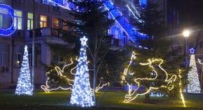 Weihnachten in Varna Stockbilder
