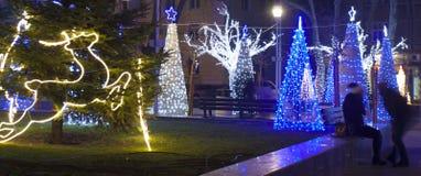 Weihnachten in Varna Lizenzfreies Stockbild