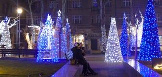 Weihnachten in Varna Lizenzfreie Stockfotos