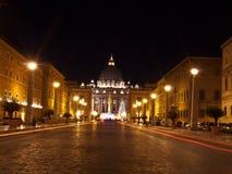Weihnachten in Vatikan Stockbild