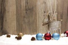 Weihnachten, Weihnachtsverzierung lizenzfreie stockbilder