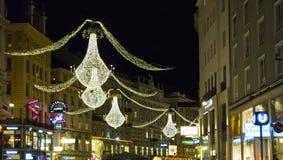 Weihnachten in Wien lizenzfreie stockfotografie