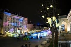 Weihnachten in Wien lizenzfreie stockbilder