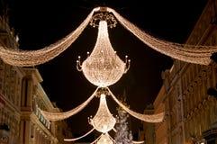 Weihnachten in Wien lizenzfreies stockbild